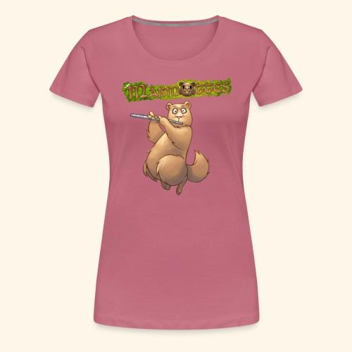 Tshirt Flute devant 2 - T-shirt Premium Femme
