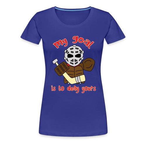 Little Vintage Goalie - Women's Premium T-Shirt