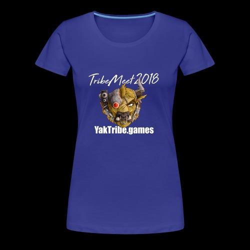 YakTribe Tribemeet 2018 Dark - Women's Premium T-Shirt