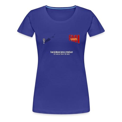 Tshirt F png - T-shirt Premium Femme