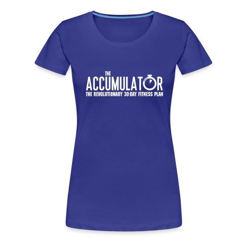 Name only white - Women's Premium T-Shirt