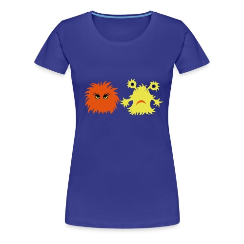 monster friends - Frauen Premium T-Shirt
