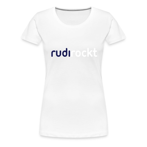 schriftzug2 - Frauen Premium T-Shirt