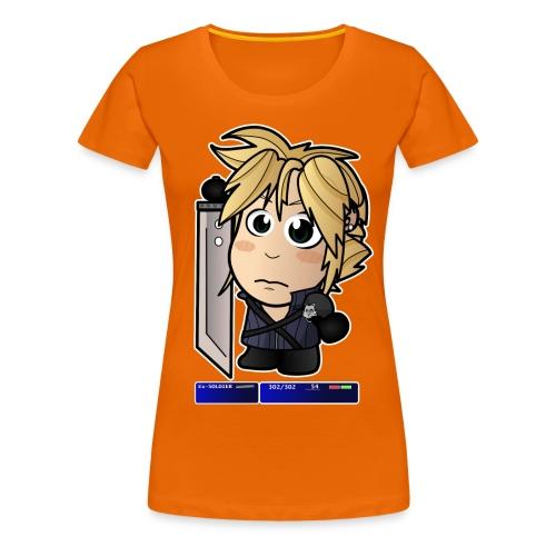 Chibi Cloud - FF7 - Women's Premium T-Shirt