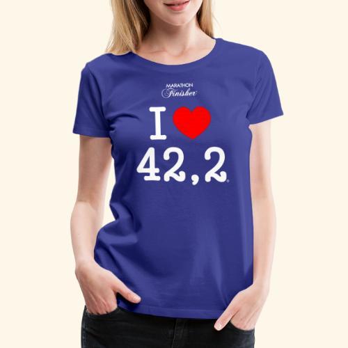 I love 42 2 1 - Women's Premium T-Shirt