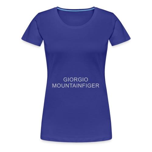 G. Mountainfiger - aus der Reihe unknown labels - Frauen Premium T-Shirt
