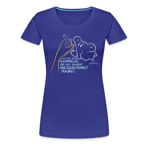 Ich lese ... - Frauen Premium T-Shirt