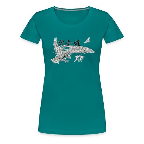 design karateaigle3 gif - T-shirt Premium Femme