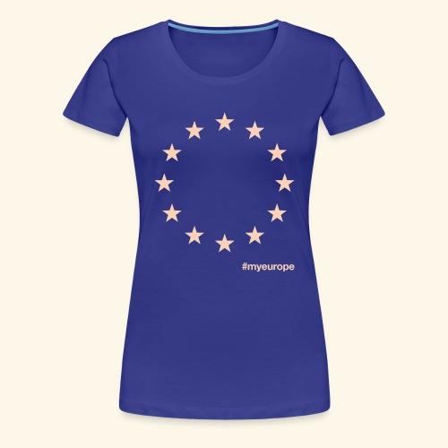 #myeurope salmon - Frauen Premium T-Shirt