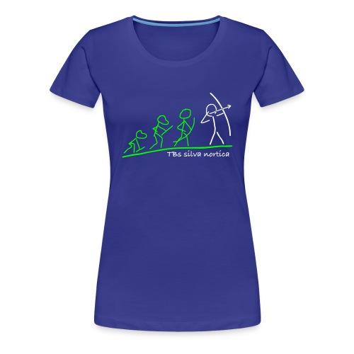Evolution TBs silva nortica - Frauen Premium T-Shirt