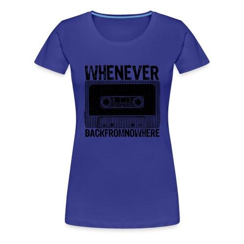 Retro Kassette - Frauen Premium T-Shirt