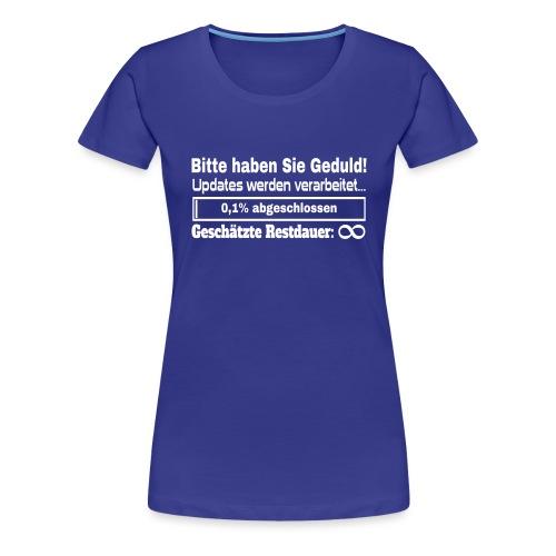Update Ladebalken - Frauen Premium T-Shirt