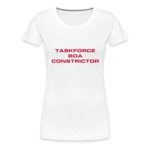 Task force Boa Constrictor - Vrouwen Premium T-shirt