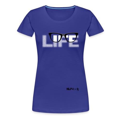 life2 png - Frauen Premium T-Shirt