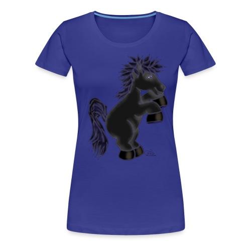 Kleiner Rappe - Frauen Premium T-Shirt