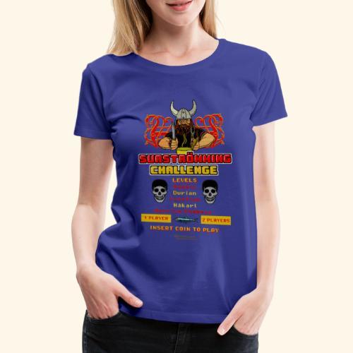 Surströmming Challenge Retro Videospiel - Frauen Premium T-Shirt