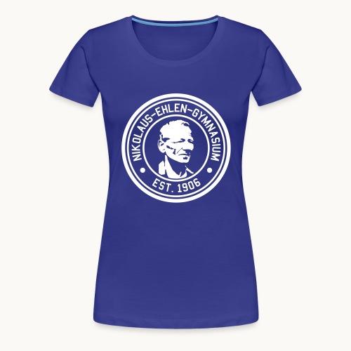 Ehlen College weiß - Frauen Premium T-Shirt