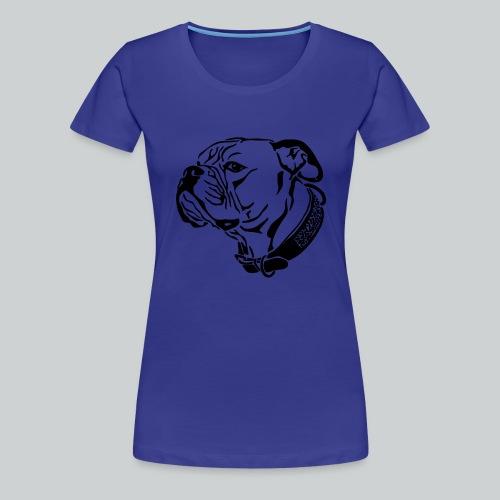 Das Motiv die Geschichte - Frauen Premium T-Shirt