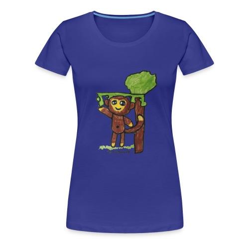 monkeywhite - Women's Premium T-Shirt