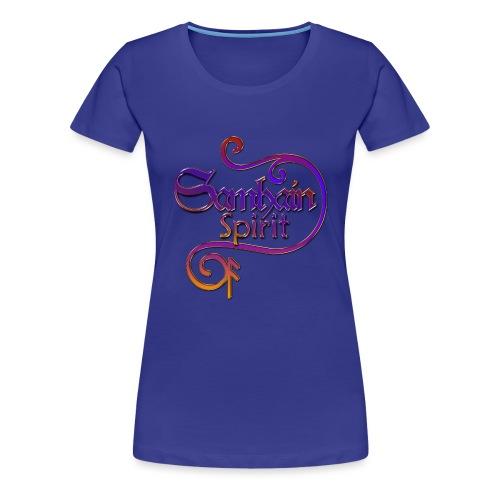SAMHAIN SPIRIT mit Rune ANSUZ - colored - Frauen Premium T-Shirt