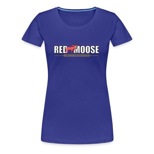 Red Moose logo - Premium-T-shirt dam