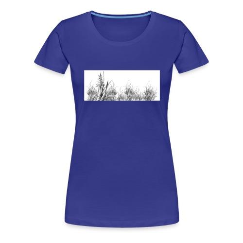 Grass jpg - T-shirt Premium Femme