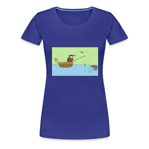 05 fisking2 - Premium T-skjorte for kvinner