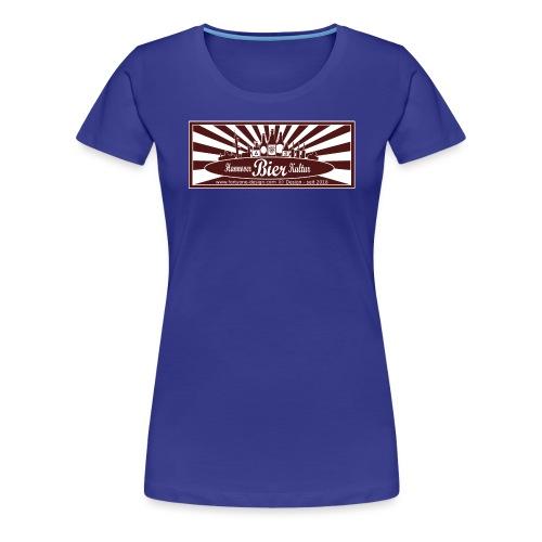 Hannover Bier Kultur - Frauen Premium T-Shirt