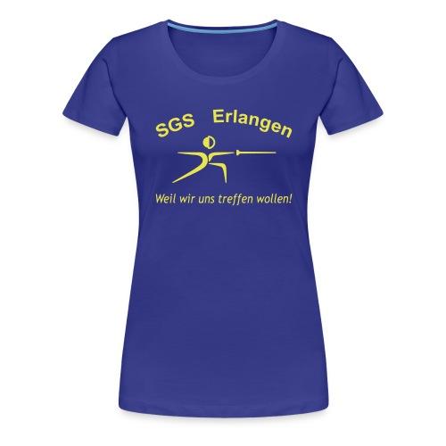 tshirt schriftzug trebuchet optimiert - Frauen Premium T-Shirt