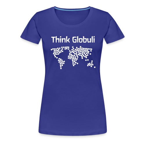 Think Globuli - Frauen Premium T-Shirt