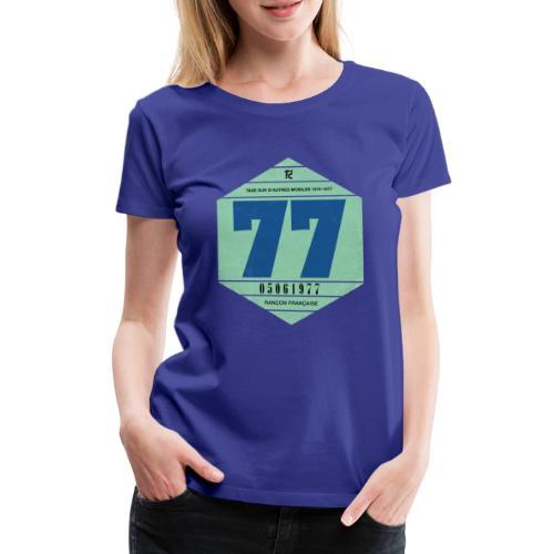 Vignette automobile 1977 - T-shirt Premium Femme