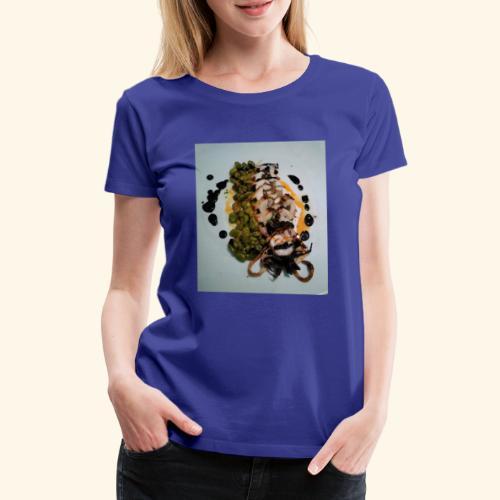Spanish food choco plancha - Camiseta premium mujer
