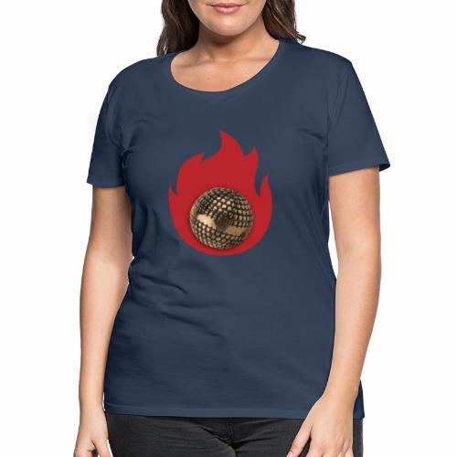 petanque fire - T-shirt Premium Femme