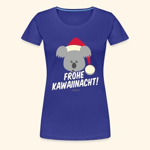 Ugly Christmas Kawaiinacht für Weihnachten - Frauen Premium T-Shirt