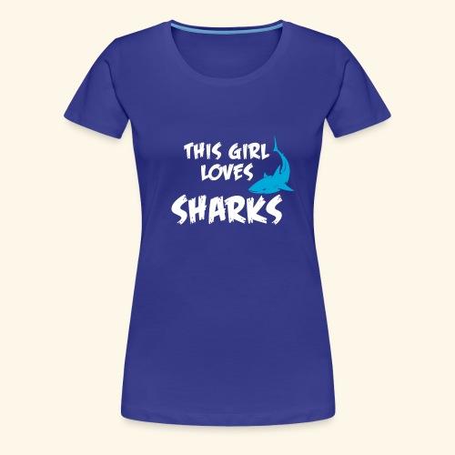 Hai Frauen T-Shirt Englisch - Frauen Premium T-Shirt