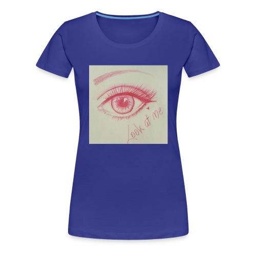 Regard Rouge - T-shirt Premium Femme