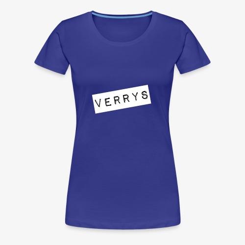 Verrys - Camiseta premium mujer