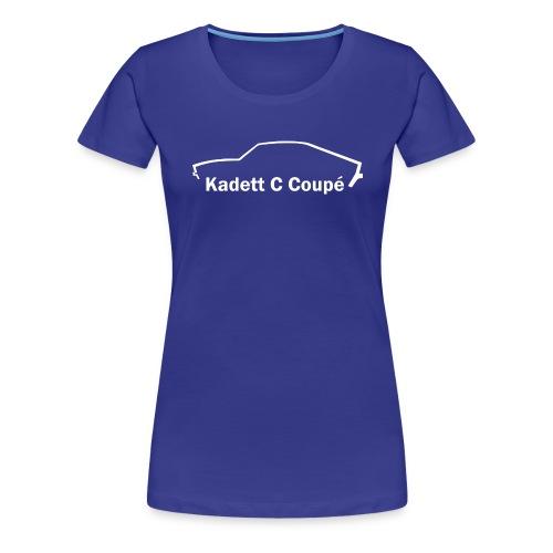 Kadett C QP Coupe - Frauen Premium T-Shirt