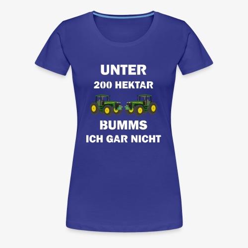 Bauern - Frauen Premium T-Shirt