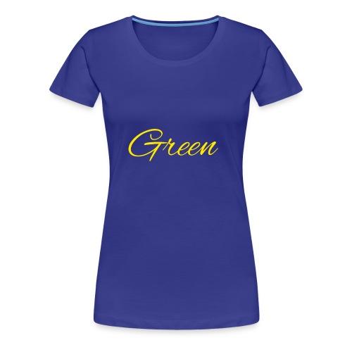 Green - Vrouwen Premium T-shirt