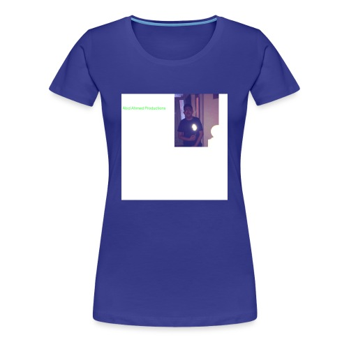 Abid Ahmed productions2 - Women's Premium T-Shirt