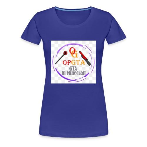 opgta logo - Naisten premium t-paita