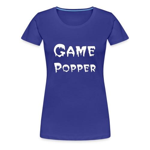 gamepopper - Vrouwen Premium T-shirt