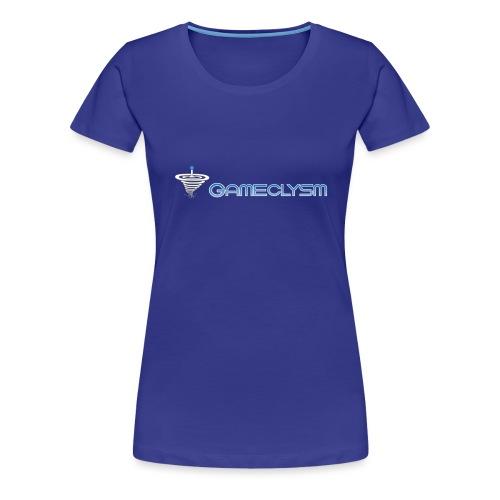Gameclysm Logo - Frauen Premium T-Shirt