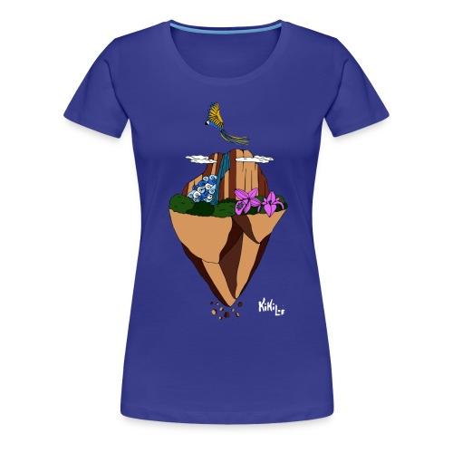 Salto Ángel flotante - Camiseta premium mujer