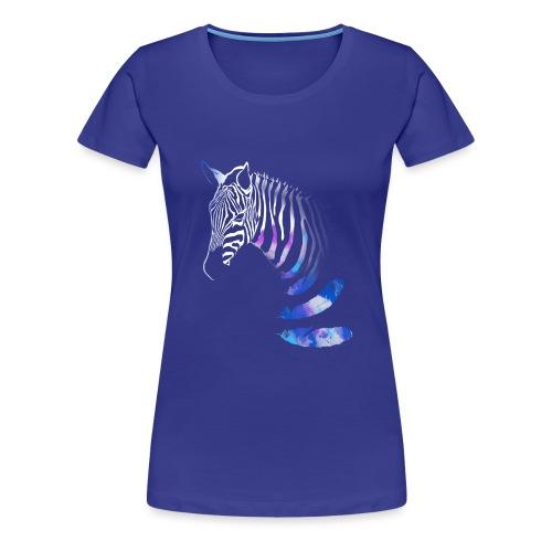 Vibrant Zebra - Women's Premium T-Shirt