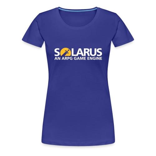 Solarus engine logotype - T-shirt Premium Femme