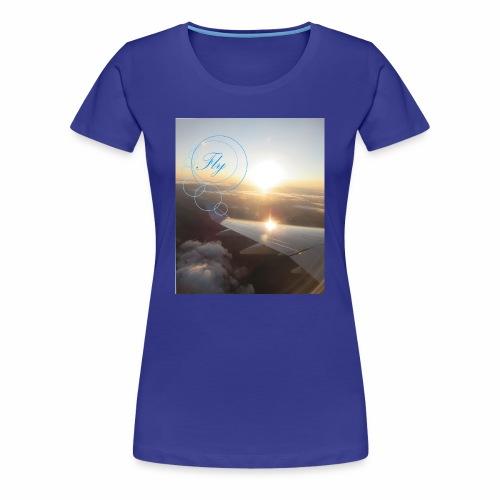 Fly - Vrouwen Premium T-shirt