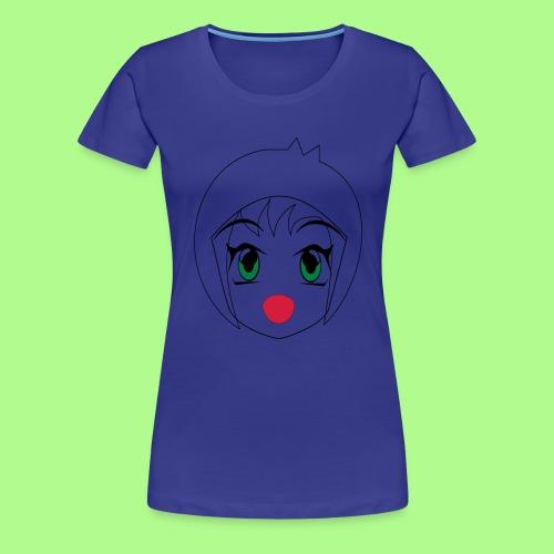 Anime girl T-Shirt - Women's Premium T-Shirt