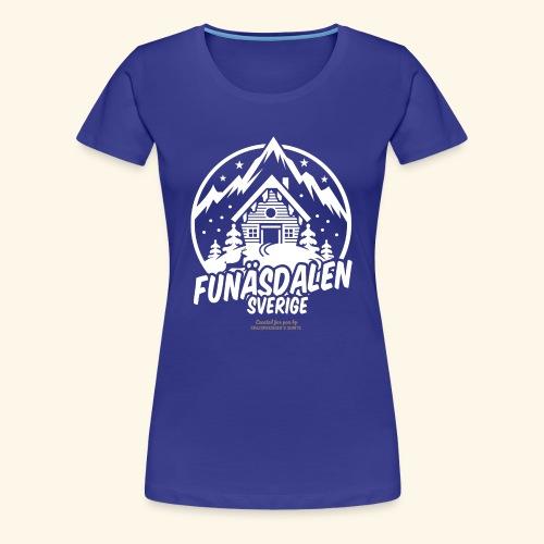 Funäsdalen Sverige Ski Resort T Shirt Design - Frauen Premium T-Shirt